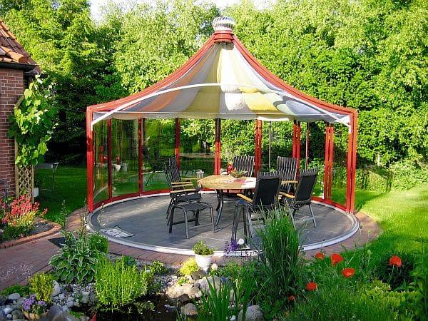 Photo of Repräsentativer Pavillon für gemütliche Stunden