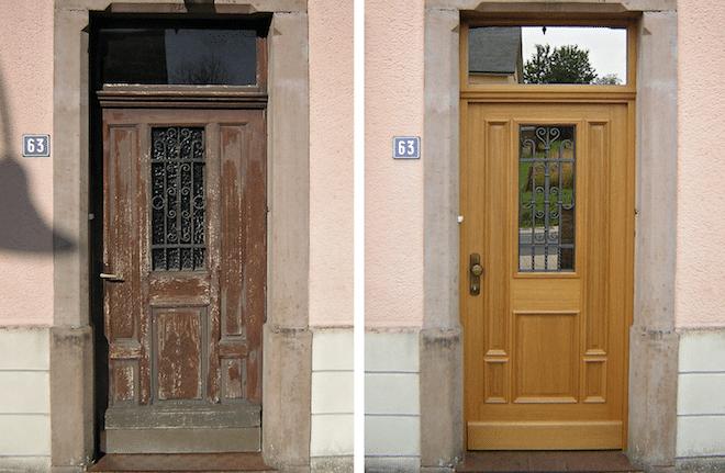 Photo of Haustüren restaurieren: aus alt mach neu