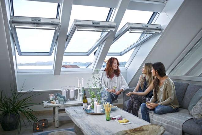 Photo of Angenehme Temperaturen im Dachgeschoss natürlich erreichen