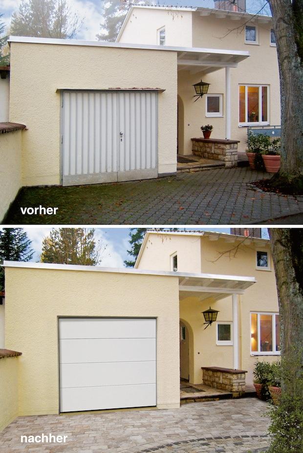 Photo of Clevere Lösungen für alte Garagentore