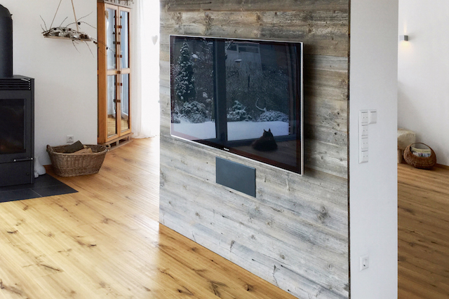 Photo of Altholzböden schaffen in modernem Ambiente eine besondere Atmosphäre