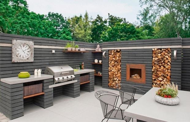 Photo of Kochen unter freiem Himmel – Moderne Outdoor-Küchen sind geräumig und beweisen Stil