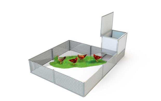 Photo of Moderner Hühnerstall für den Garten sorgt täglich für frische Eier